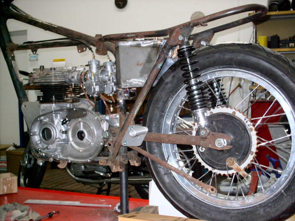 Daytona - Motorgehäuse