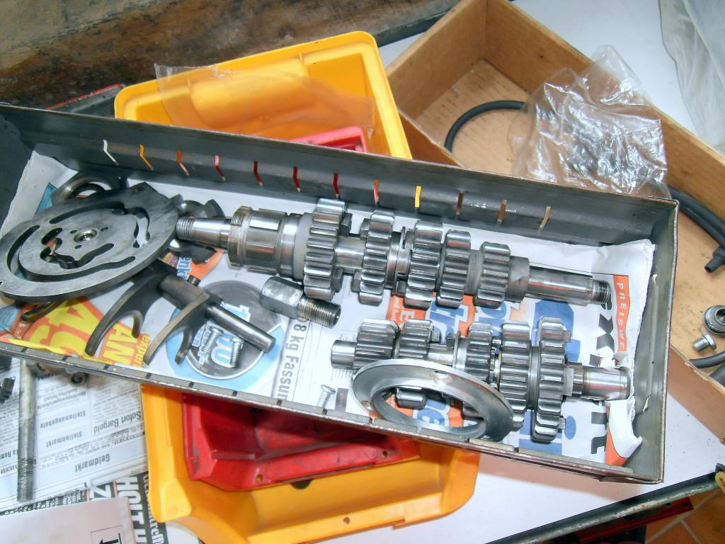 Rocket 3 - Getriebe