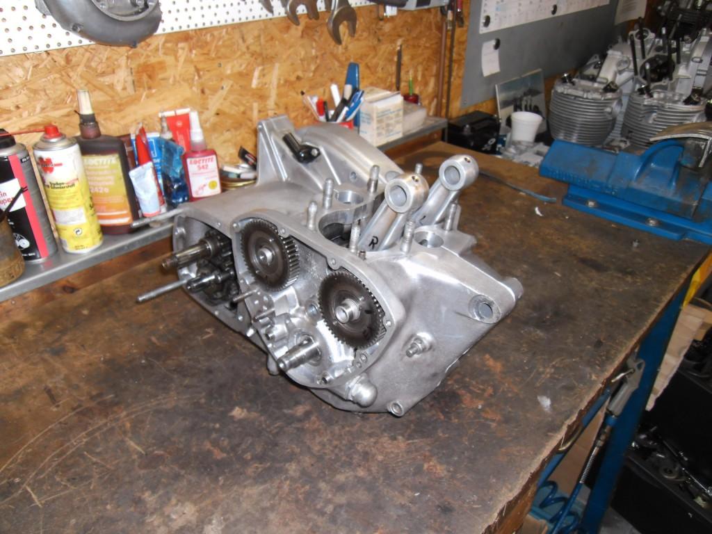 T140 Motor - Gehäuse mit Getriebe
