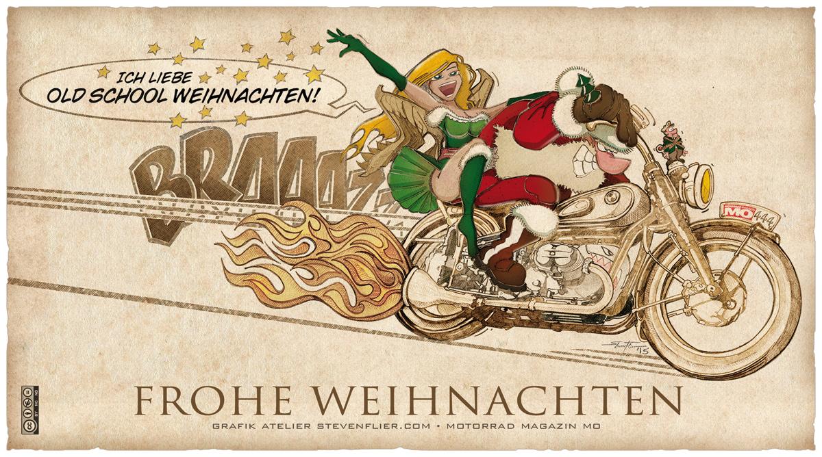 Frohe Weihnachten Motorrad.Bmw Frohe Weihnachten