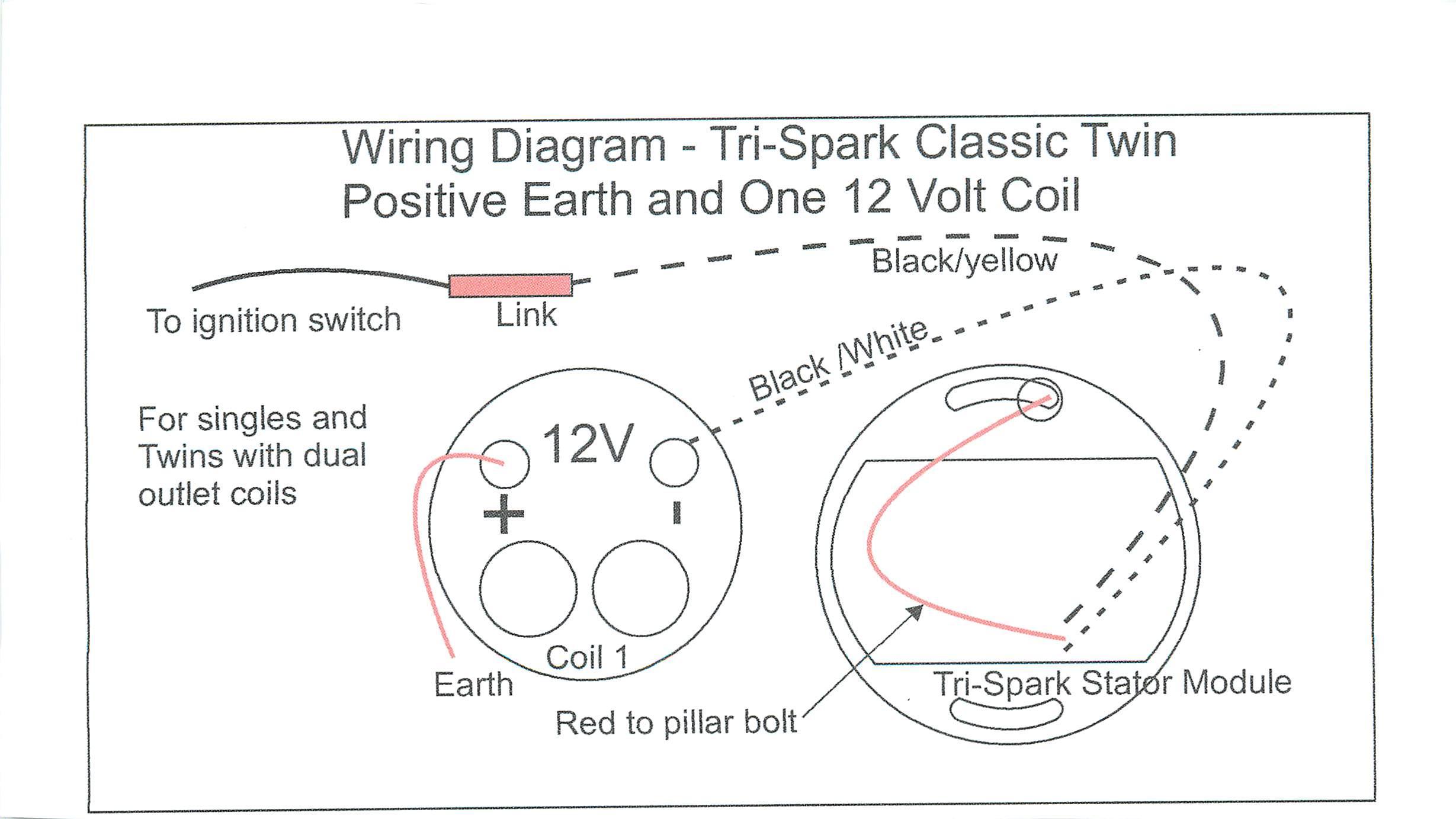 Einbauanleitung Tri Spark 1 2 Zylinder Agos Motorcycles Triumph Wiring Diagram Dual Coils Trispark 2z 10